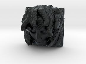 Medusa Keycap (Cherry MX DSA) in Black Hi-Def Acrylate