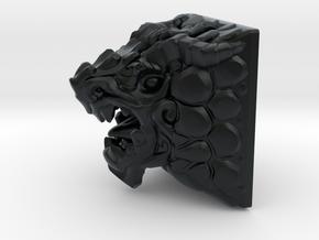 Dragon Keycap (Cherry MX DSA) in Black Hi-Def Acrylate
