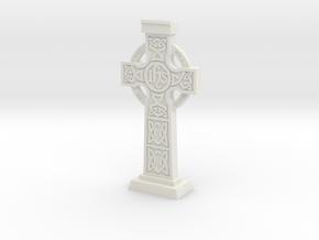 Celticcross03 in White Natural Versatile Plastic