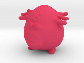 Chansey in Pink Processed Versatile Plastic