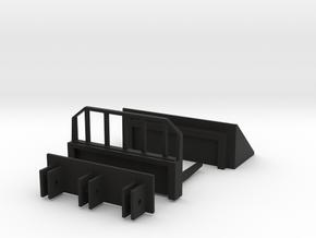 Quick Attach in Black Natural Versatile Plastic