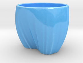 Australia in a cup in Gloss Blue Porcelain