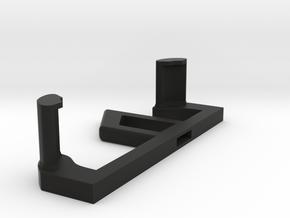 Moverio BT-300 -DJI (+Mavic) Mount (Left side 1/2) in Black Natural Versatile Plastic