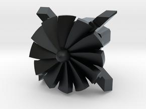 Turbine Cherry MX Keycap in Black Hi-Def Acrylate