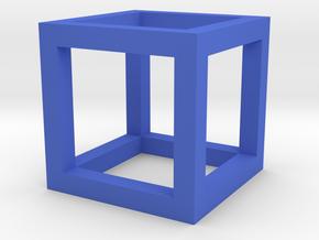 Gcube2 in Blue Processed Versatile Plastic