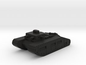 Infantry Command Tank in Black Natural Versatile Plastic