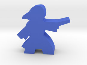 Game Piece, Student Witch in robes in Blue Processed Versatile Plastic