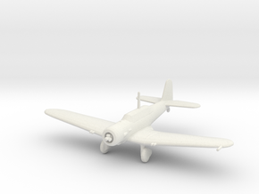 Douglas Model 8A-1/8A-2 (Northrop A-17) in White Strong & Flexible: 1:200
