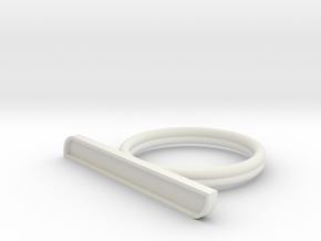 CUSTOM TEXT US 11 in White Natural Versatile Plastic