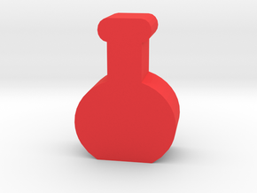 Game Piece, Potion Bottle in Red Processed Versatile Plastic