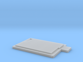 N-scale Buddys Waffle Shop Base in Smooth Fine Detail Plastic