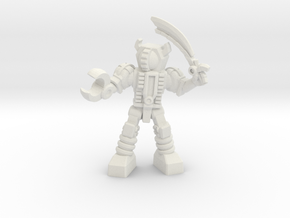 Waruder, Kuwagatrer Giant-Killer, 35mm Mini in White Strong & Flexible