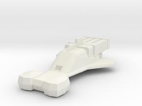 Starfire (Jason of Star Command) in White Natural Versatile Plastic: 1:285 - 6mm