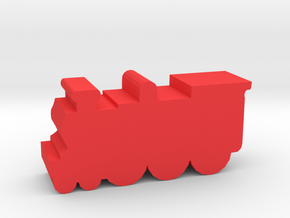 Game Piece, Magic Steam Engine in Red Processed Versatile Plastic