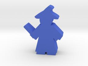 Game Piece, Magic Professor in Blue Processed Versatile Plastic