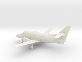 British Aerospace Jetstream 31 in White Natural Versatile Plastic: 1:160 - N