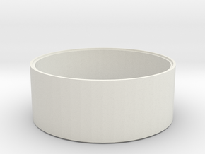 L 61-50 Betonschacht Ring in White Natural Versatile Plastic