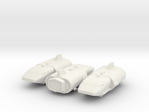 Seeker x3 (Space Academy), 1/270 in White Natural Versatile Plastic