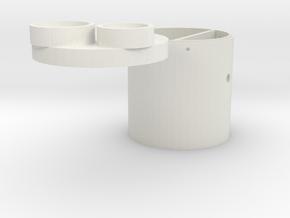 L 70 Pumpenschacht in White Natural Versatile Plastic
