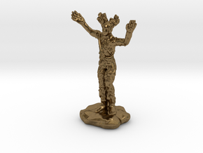 Wilden Warden Greenman Standing Pose in Natural Bronze