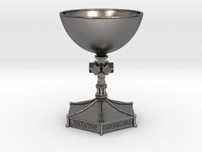 Medieval Goblet miniatur in Polished Nickel Steel
