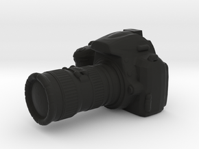 Camera D3000 with Camera Lens - 1/10 in Black Natural Versatile Plastic