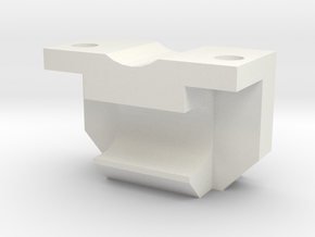 Rear rail mount in White Natural Versatile Plastic