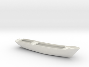 Coaster 840, Hull (1:160, RC) in White Natural Versatile Plastic