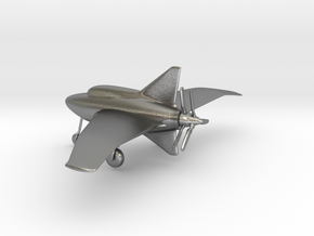 Northrop XP-56 Black Bullet in Natural Silver: 1:160 - N