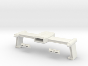 NEW Tos Weapons Rollbar In 1-1000th Scale in White Natural Versatile Plastic