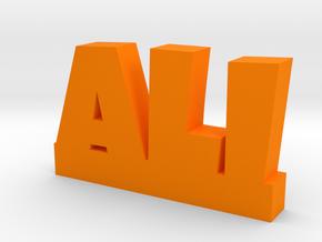 ALI Lucky in Orange Processed Versatile Plastic
