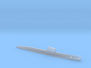 Foxtrot-class submarine, 1/2400 in Smooth Fine Detail Plastic