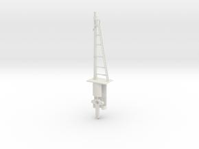 Signal 27 Ft Post HO NSWGR Lower Quadrant in White Natural Versatile Plastic