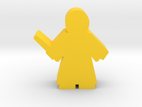 Game Piece, Student Wizard, standing in Yellow Processed Versatile Plastic