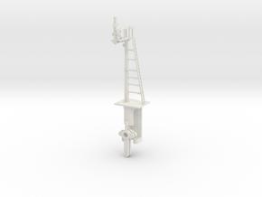 RH Offset Bracket Signal HO NSWGR LQ in White Strong & Flexible