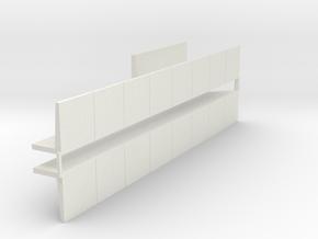 Kuilgras opslag 1:87 in White Natural Versatile Plastic