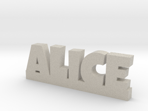 ALICE Lucky in Natural Sandstone