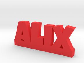 ALIX Lucky in Red Processed Versatile Plastic