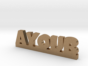 AYOUB Lucky in Natural Brass