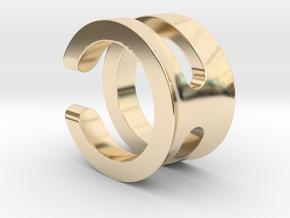 SIMBIOSI US 5.75 (EU 50.87) in 14K Yellow Gold