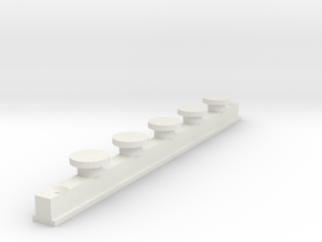 IKEA KVARTAL In Curtain Rail  V1 in White Natural Versatile Plastic