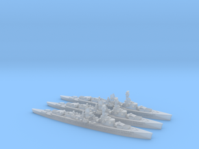 Lutzow (Deutschland class) 1/4800 x3 in Smooth Fine Detail Plastic
