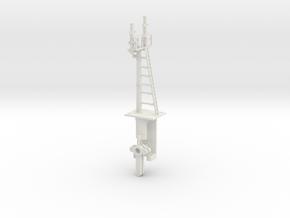 Mid-Bracket Signal - Left Main Doll HO NSWGR LQ in White Natural Versatile Plastic