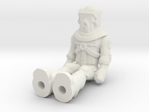Matt Trakker, Sitting 35mm Mini  in White Natural Versatile Plastic