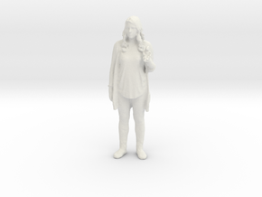Printle C Femme 030 - 1/12 - wob in White Strong & Flexible