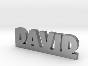 DAVID Lucky in Natural Silver