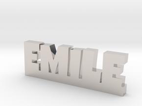 EMILE Lucky in Platinum