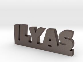 ILYAS Lucky in Polished Bronzed Silver Steel