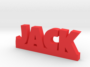 JACK Lucky in Red Processed Versatile Plastic