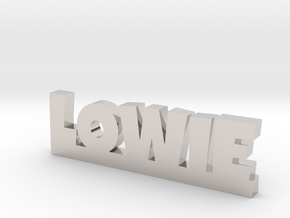 LOWIE Lucky in Platinum